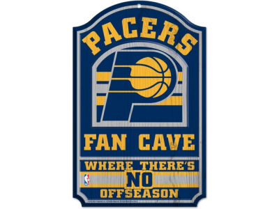 Indiana Pacers 11x17 Wood Sign