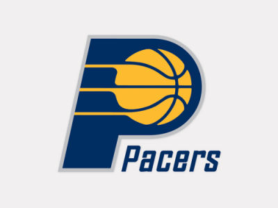 Indiana Pacers 4x4 Die Cut Decal Color
