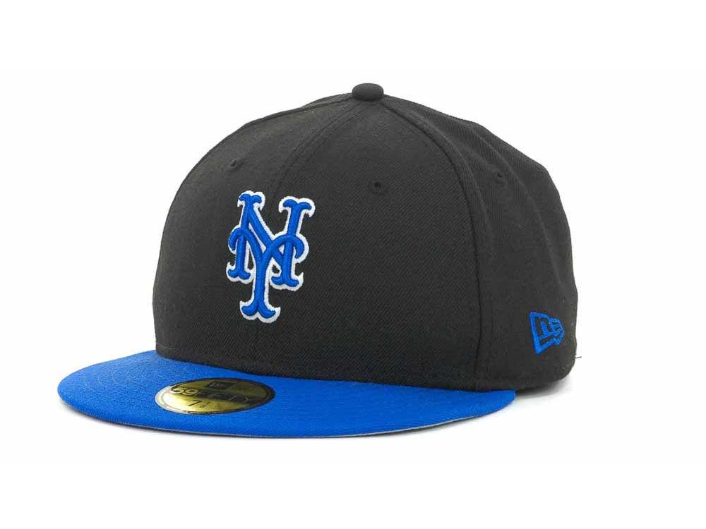 new concept fba80 2e415 New York Mets New Era MLB 2T Custom 59FIFTY Cap   lids.com