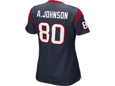 Houston Texans Andre Johnson Nike NFL Women's Game Jersey