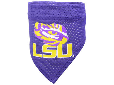 LSU Tigers Pet Bandana L/XL