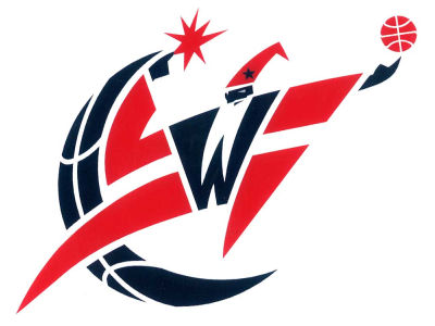 Washington Wizards Static Cling Decal