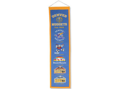 Denver Nuggets Winning Streak Heritage Banner