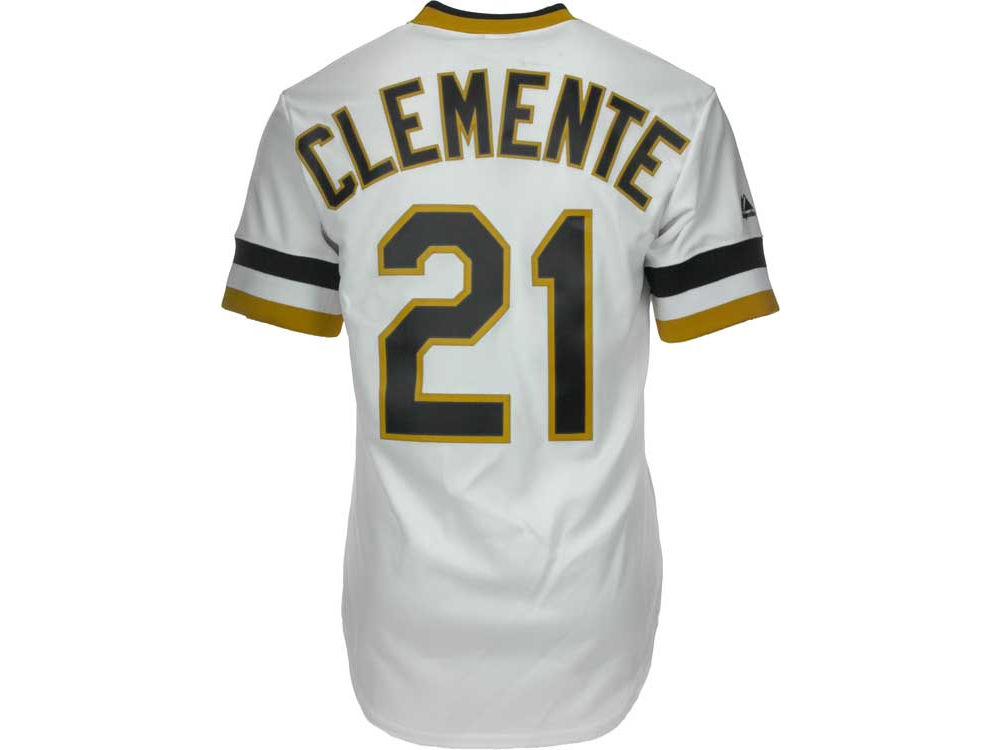 Pittsburgh Pirates Roberto Clemente Majestic MLB Men s Cooperstown Fan Replica  Jersey  49f3518bb
