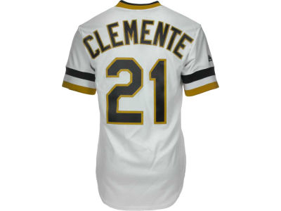 Pittsburgh Pirates Roberto Clemente Majestic MLB Men's Cooperstown Fan Replica Jersey