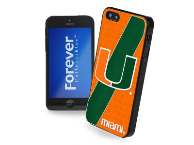 Miami Hurricanes iPhone SE Case Hard Logo