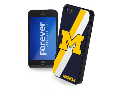 Michigan Wolverines iPhone SE Case Hard Logo
