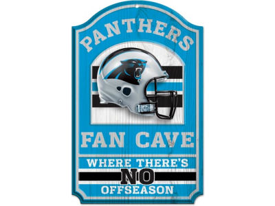 Carolina Panthers 11x17 Wood Sign