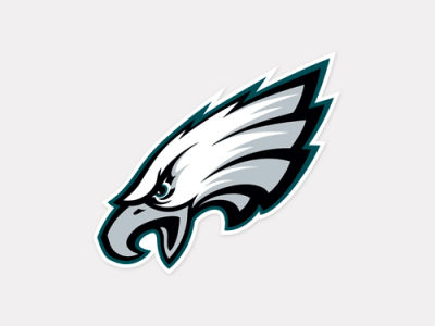 Philadelphia Eagles 4x4 Die Cut Decal Color