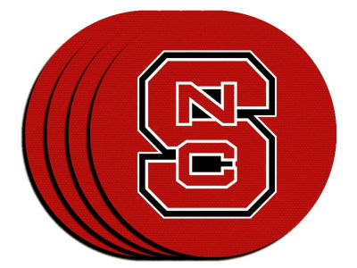 North Carolina State Wolfpack 4-pack Neoprene Coaster Set