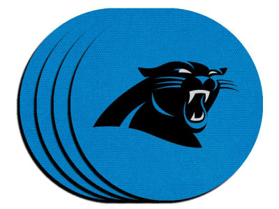 Carolina Panthers 4-pack Neoprene Coaster Set