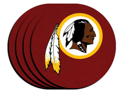 Washington Redskins 4-pack Neoprene Coaster Set