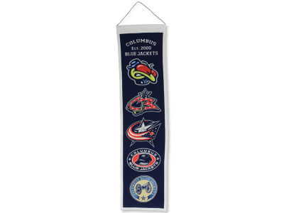 Columbus Blue Jackets Heritage Banner