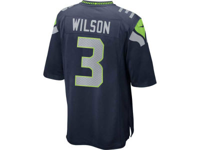 Seattle Seahawks Russell Wilson Nike NFL Youth Game Jersey