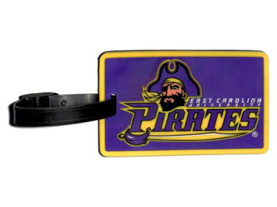East Carolina Pirates Soft Bag Tag