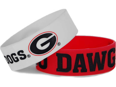Georgia Bulldogs 2-pack Wide Bracelet