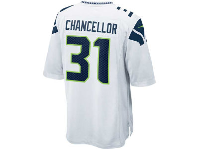 Seattle Seahawks Kam Chancellor Nike NFL Men's Game Jersey