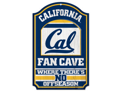 California Golden Bears 11x17 Wood Sign