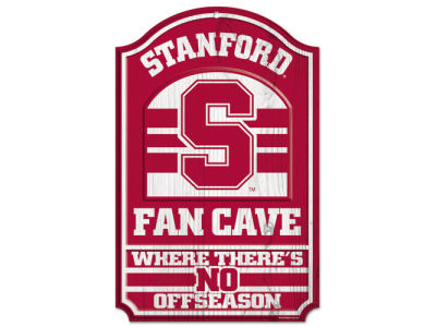 Stanford Cardinal 11x17 Wood Sign