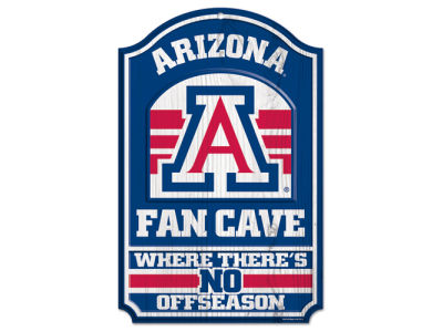 Arizona Wildcats 11x17 Wood Sign