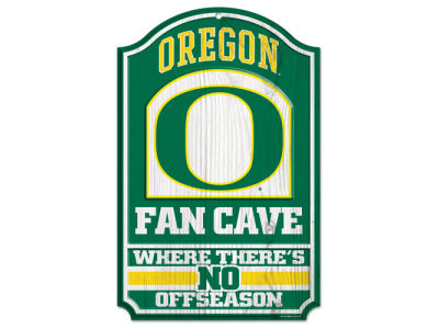 Oregon Ducks 11x17 Wood Sign