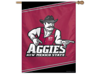 New Mexico State Aggies 27X37 Vertical Flag