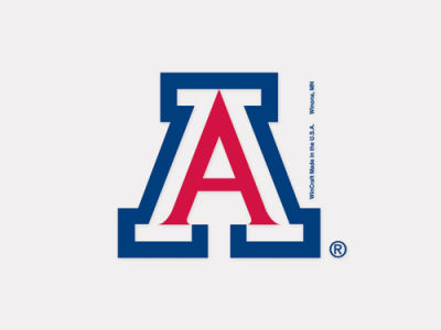 Arizona Wildcats 4x4 Die Cut Decal Color