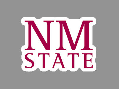 New Mexico State Aggies 4x4 Die Cut Decal Color