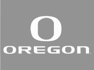 "Oregon Ducks Die Cut Decal 8""x8"""