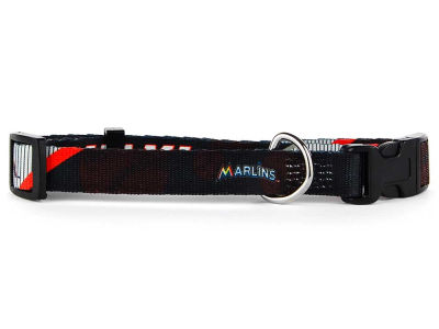 Miami Marlins Medium Dog Collar