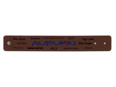 Auburn Tigers Embroidered Leather Cuff