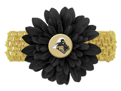 Purdue Boilermakers Flower Head Band