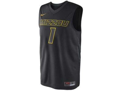 Missouri Tigers #1 Nike NCAA Replica Basketball Jersey