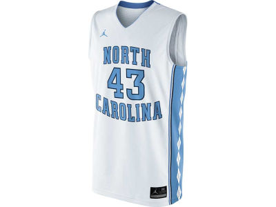 North Carolina Tar Heels #43 Nike NCAA Replica Basketball Jersey