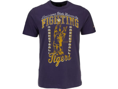 LSU Tigers NCAA Tailgate Basketball T-Shirt