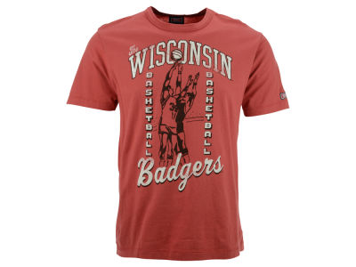 Wisconsin Badgers NCAA Tailgate Basketball T-Shirt