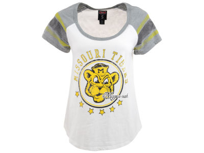 Missouri Tigers NCAA Womens Raglan T-Shirt