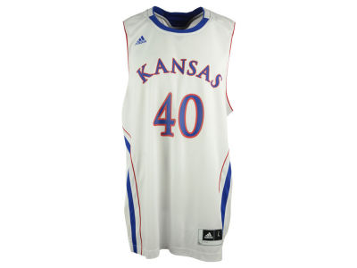 Kansas Jayhawks adidas NCAA Basketball Replica Jersey