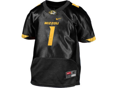 Missouri Tigers Mizzou #1 adidas NCAA Toddler Replica Football Jersey