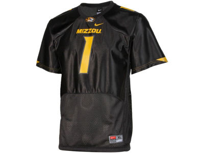 Missouri Tigers #1 NCAA Kids Football Jersey
