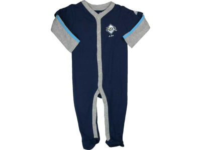Tampa Bay Rays MLB Newborn Long Sleeve Jersey Coverall
