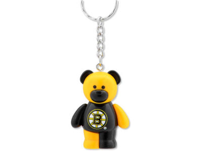 Boston Bruins PVC Bear Keychain