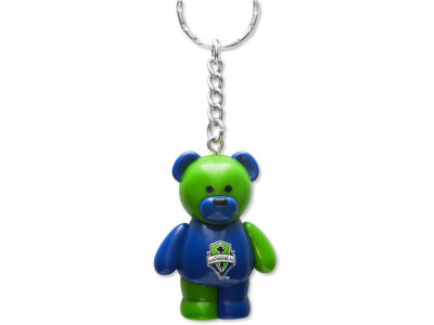 Seattle Sounders FC PVC Bear Keychain