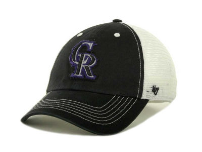 Colorado Rockies '47 MLB Blue Mountain Franchise Cap