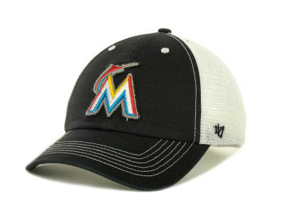 Miami Marlins '47 MLB Blue Mountain Franchise Cap