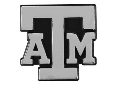 Texas A&M Aggies Metal Auto Emblem