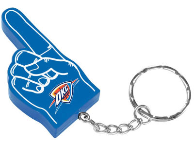 Oklahoma City Thunder #1 Finger Keychain