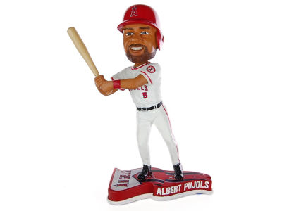 Los Angeles Angels Albert Pujols Pennant Base Bobble