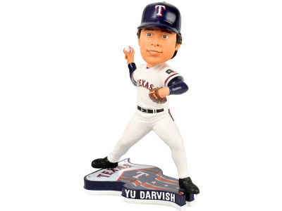 Texas Rangers Yu Darvish Pennant Base Bobble
