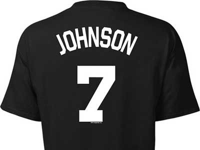 Brooklyn Nets Joe Johnson NBA Youth Name And Number T-Shirt